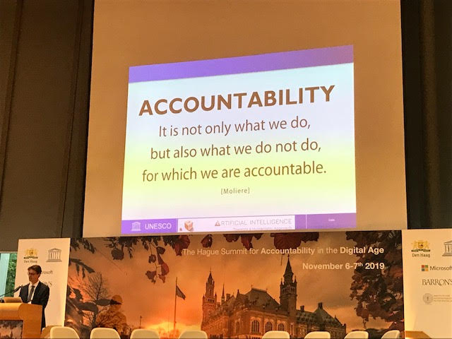 PDP4E at The Hague Summit on Accountability in the Digital Age
